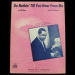 Duke Ellington Do Nothin Till You Hear From Me Sheet Music