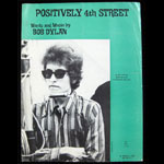 Bob Dylan Positively 4th Street Sheet Music