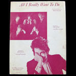Bob Dylan All I Really Want To Do Sheet Music