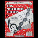 Fox Movietone Follies Breakaway Sheet Music