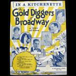 Gold Diggers of Broadway - In a Kitchenette Al Dubin Joe Burke Sheet Music