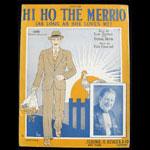 Hi Ho the Merrio Sheet Music