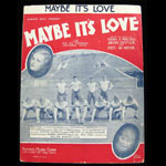 Maybe It's Love Sheet Music