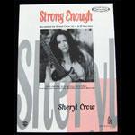 Sheryl Crow 1995 Strong Enough Guitar Vocal Sheet Music