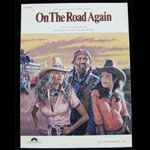 Willie Nelson 1980 On the Road Again Sheet Music