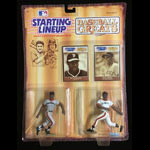 Starting Lineup Willie McCovey Mays 1989 San Francisco Giants Baseball Greats Action Figure / Toy