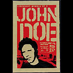 Lon Jerome John Doe (of X fame) Poster