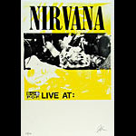 Nirvana Sub Pop Tour Poster