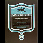 Aesthetic Apparatus Barsuk Records Poster