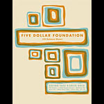 Aesthetic Apparatus Five Dollar Foundation CD Release Show Poster