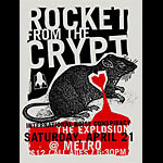 Aesthetic Apparatus Rocket From The Crypt Poster