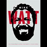 Aesthetic Apparatus Mike Watt Poster
