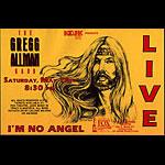 Gregg Allman Band Handbill