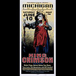 Mark Arminski King Crimson Poster