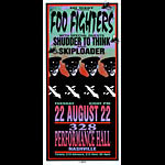 Mark Arminski Foo Fighters Handbill