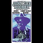 Mark Arminski John Lee Hooker Handbill