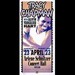 Mark Arminski Tracy Chapman Handbill