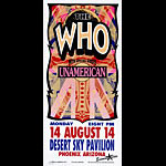 Mark Arminski The Who Handbill