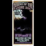 Mark Arminski Queens Of The Stone Age Handbill