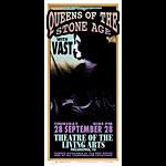 Mark Arminski Queens Of The Stone Age Handbill
