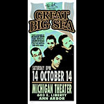 Mark Arminski Great Big Sea Handbill