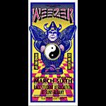 Mark Arminski Weezer Handbill