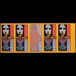 Mark Arminski Patti Smith Uncut Handbill Sheet