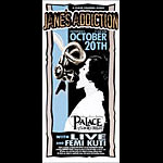 Mark Arminski Jane's Addiction Handbill