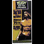 Mark Arminski Iggy And The Stooges Handbill