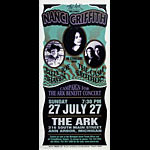 Mark Arminski Nanci Griffith Handbill