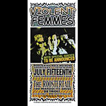 Mark Arminski Violent Femmes Handbill
