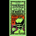 Mark Arminski Grand Opening of the Jupiter Room Handbill