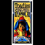 Mark Arminski Toadies Handbill