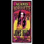 Mark Arminski Alanis Morissette Handbill