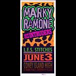Mark Arminski Marky Ramone and the Intruders Handbill