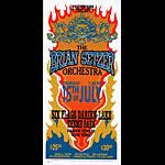 Mark Arminski Brian Setzer Orchestra Handbill