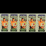 Mark Arminski Arminski Germany Show Uncut Handbill Sheet