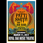 Mark Arminski Patti Smith performing Horses Poster