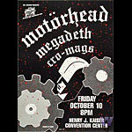 Motorhead Bill Graham Presents BGP6 Poster