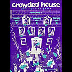Crowded House Bill Graham Presents Poster BGP9