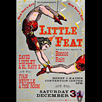 Little Feat Bill Graham Presents Poster BGP28