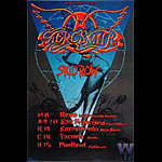 Aerosmith Bill Graham Presents Poster BGP36