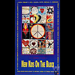 New Kids On The Block Bill Graham Presents BGP39 Poster