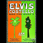 Elvis Costello Bill Graham Presents Poster BGP45