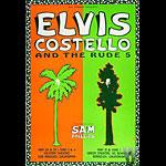 Elvis Costello Bill Graham Presents BGP45 Poster