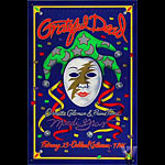 Grateful Dead (Mardi Gras) Bill Graham Presents Poster BGP72