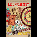 Paul McCartney Bill Graham Presents Poster BGP74