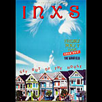 INXS Bill Graham Presents BGP75 Poster
