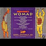 Womad - Peter Gabriel Bill Graham Presents Poster BGP79