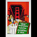 (MGD Blind Date) Foo Fighters Bill Graham Presents Poster BGP10/26/00